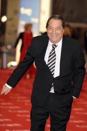 Sancho Gracia en la alfombra roja de los Goya 2011
