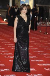 Carmen Machi en la alfombra roja de los Goya 2011