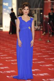 Adriana Ugarte en la alfombra roja de los Goya 2011