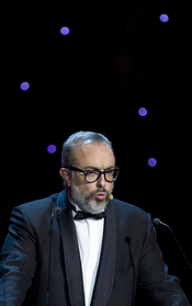 Álex de la Iglesia en su discurso de los Goya 2011