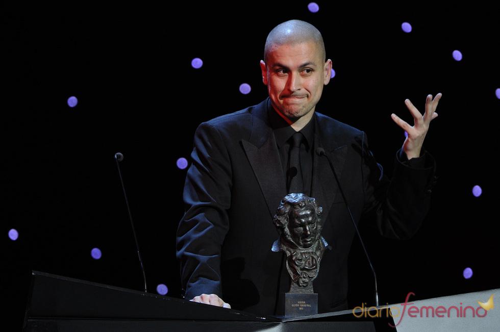 El director Rodrigo Cortés, premiado en los Goya 2011