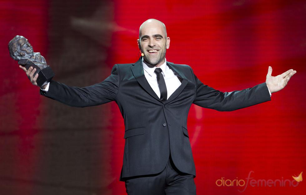 Luis Tosar en la gala de los Goya 2011