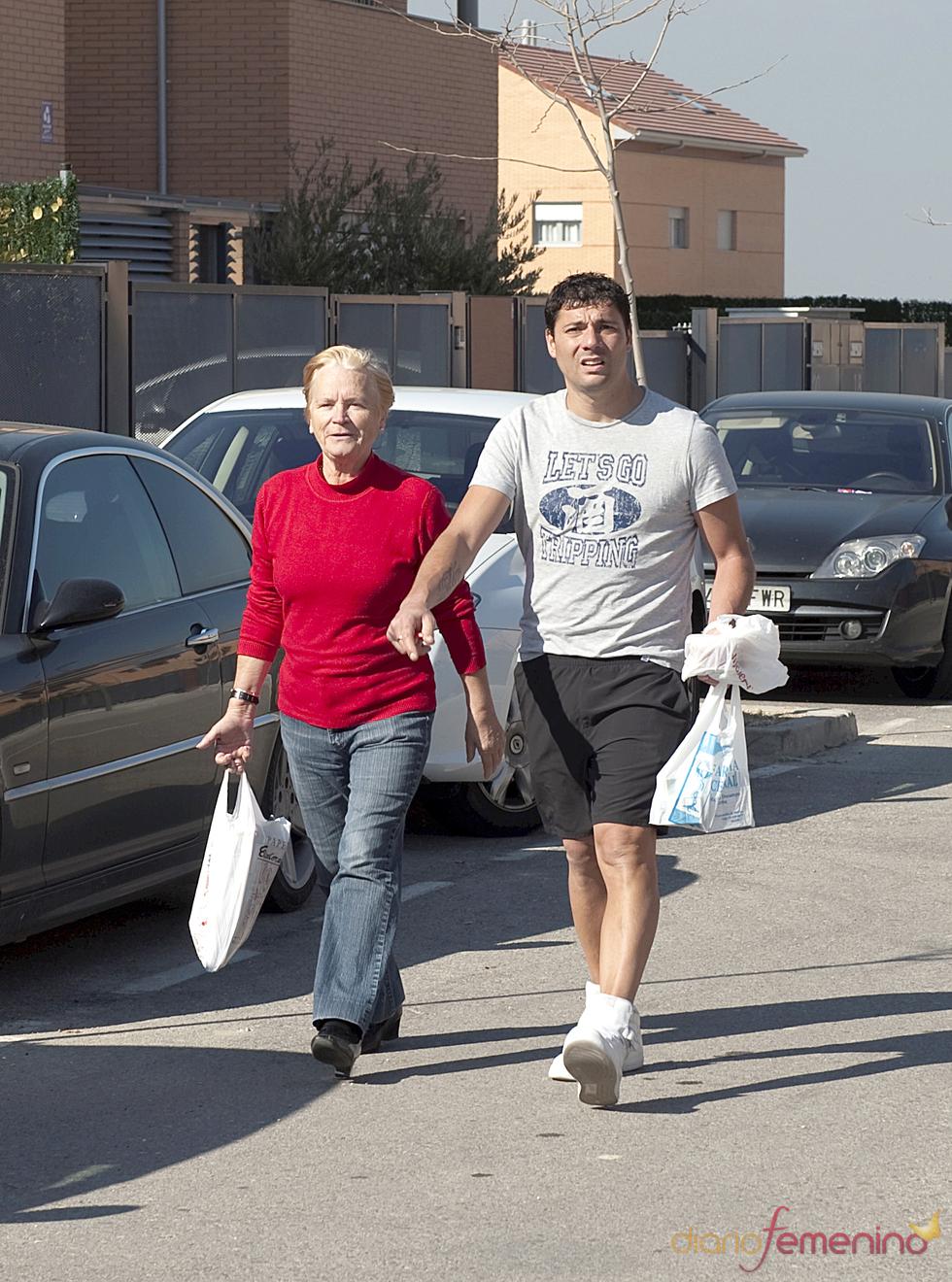 Fran Álvarez y su suegra Carmen, la madre de Belén Esteban