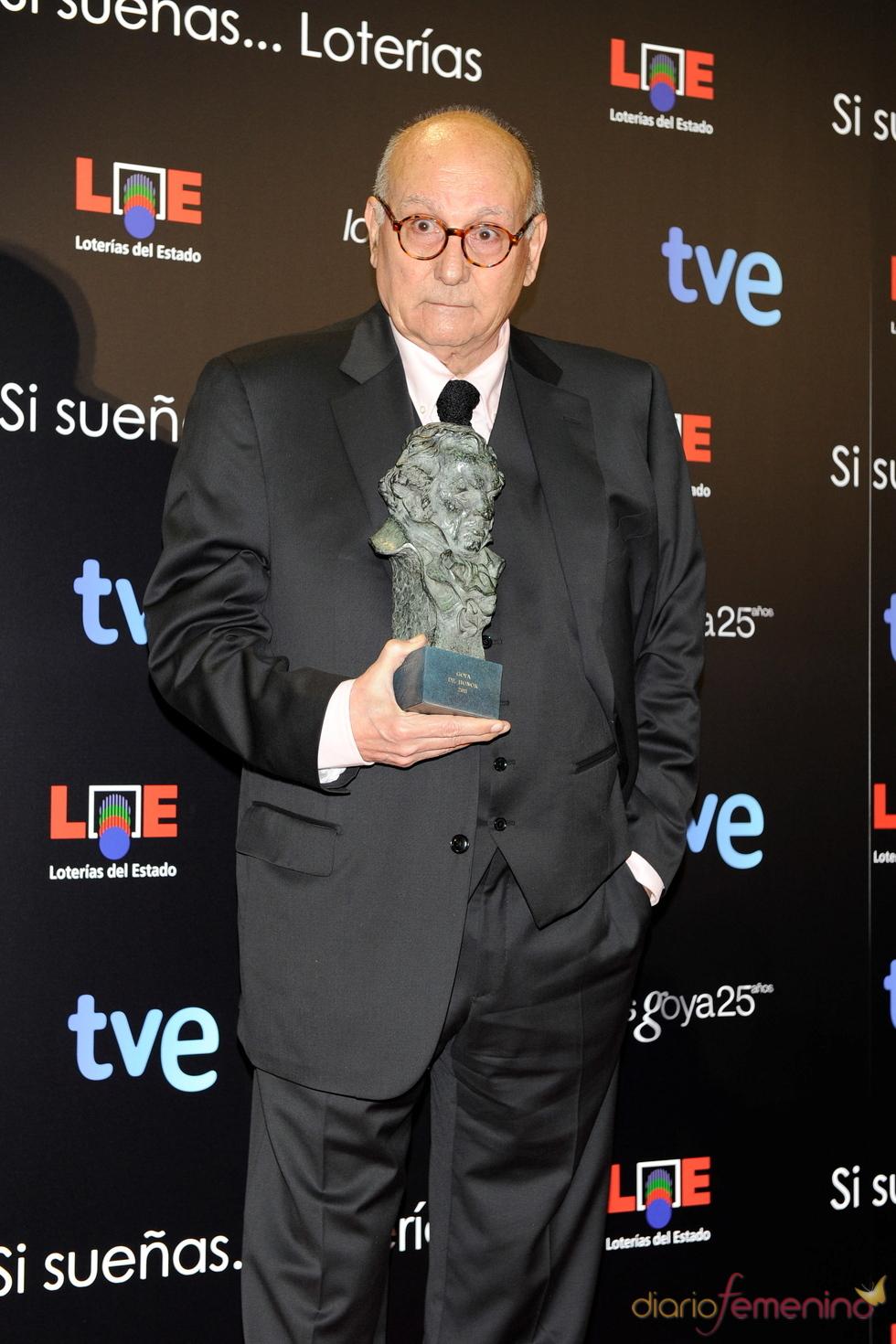 Mario Camús, Goya Honorífico 2011