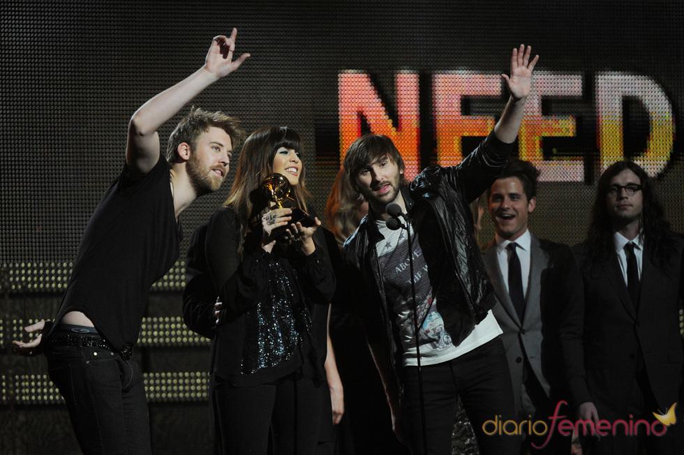 Lady Antebellum recogen su Grammy 2011