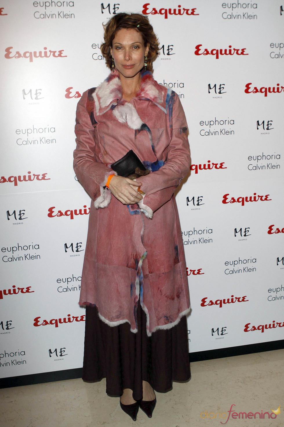 Cristina Piaget en la fiesta Post-Goya 2011