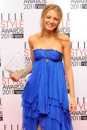 Blake Lively en los Premios Elle Style 2011