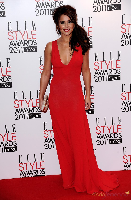 Cheryl Cole en los Premios Elle Style 2011