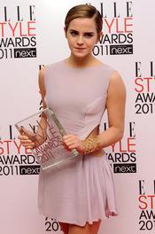 Emma Watson en los Premios Elle Style 2011