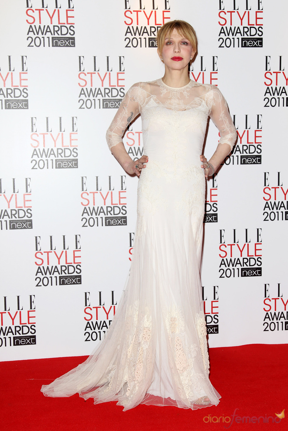 Courtney Love en los Premios Elle Style 2011