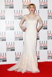 Courtney Love en los Premios Elle Style 2011