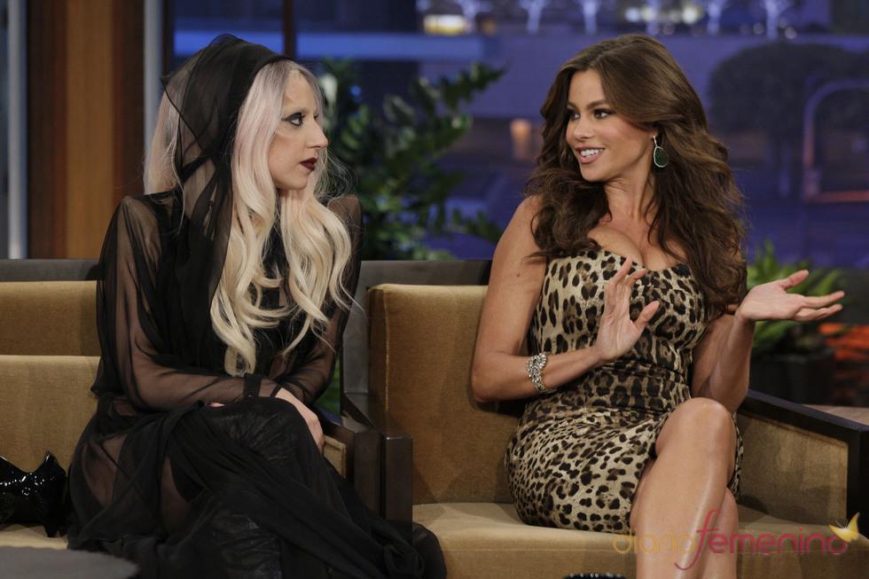 Lady Gaga y Sofía Vergara