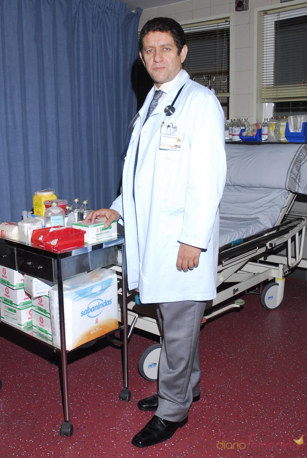 Pedro Casablanc en 'Hospital Central'