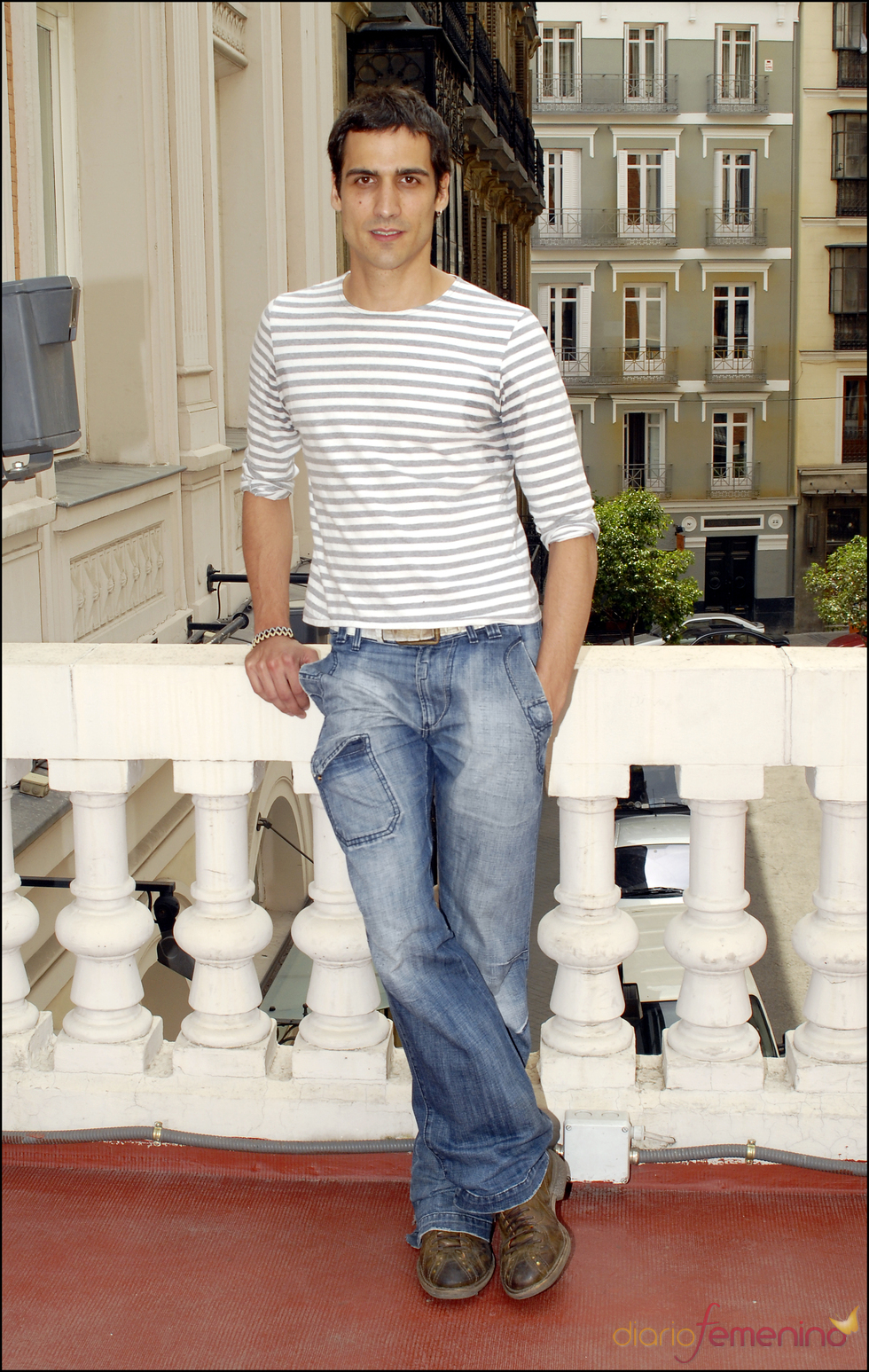 El actor Raúl Prieto