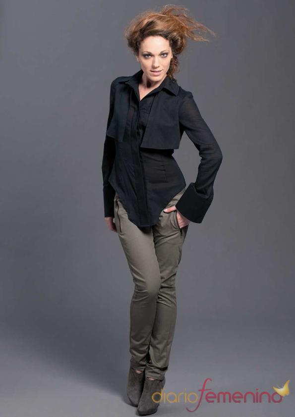 Camisa geométrica de Sara Coleman, otoño/invierno 2011