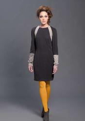 Vestido bitono de Sara Coleman, otoño/invierno 2011