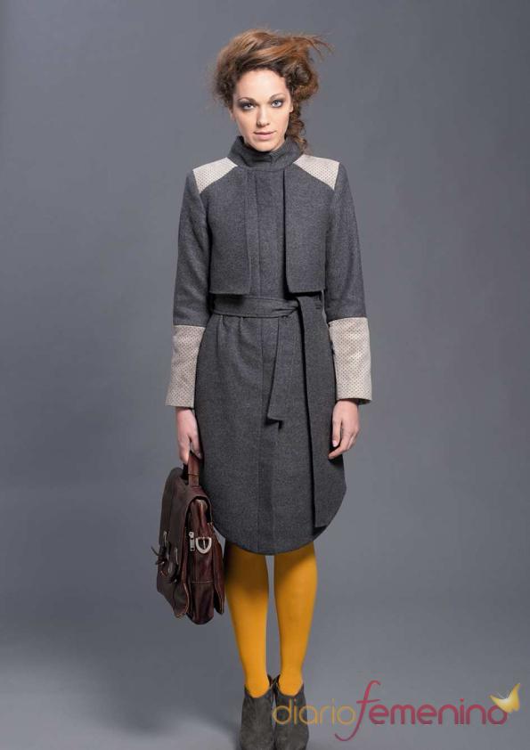 Elegante abrigo de Sara Coleman para el invierno 2011-12