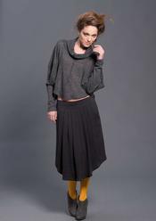 Falda plisada de Sara Coleman. Otoño/invierno 2011-12