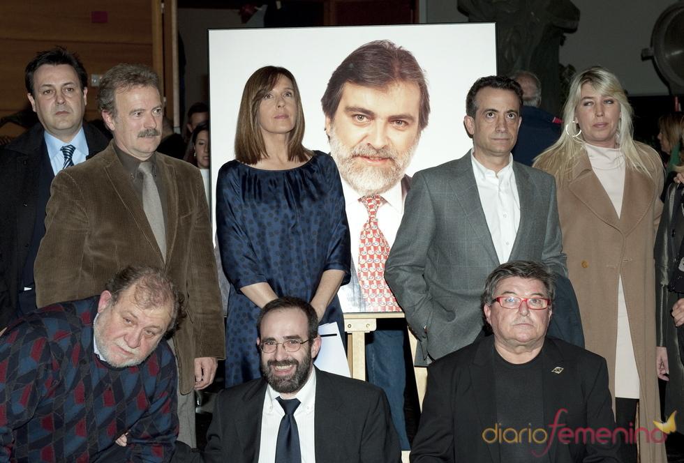 Ana Blanco, Manuel Campo Vidal y J.J. Santos, entre otros en el homenaje a Luis Mariñas