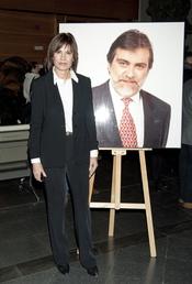 Concha García Campoy en el homenaje a Luis Mariñas