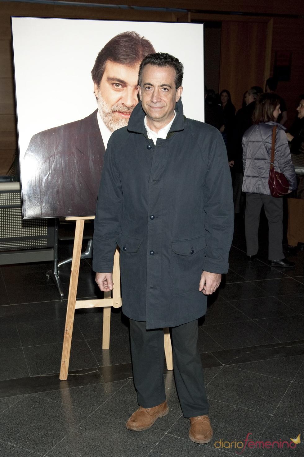 J. J. Santos en el homenaje a Luis Mariñas