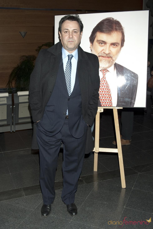 José Ribagorda acudió al homenaje a Luis Mariñas