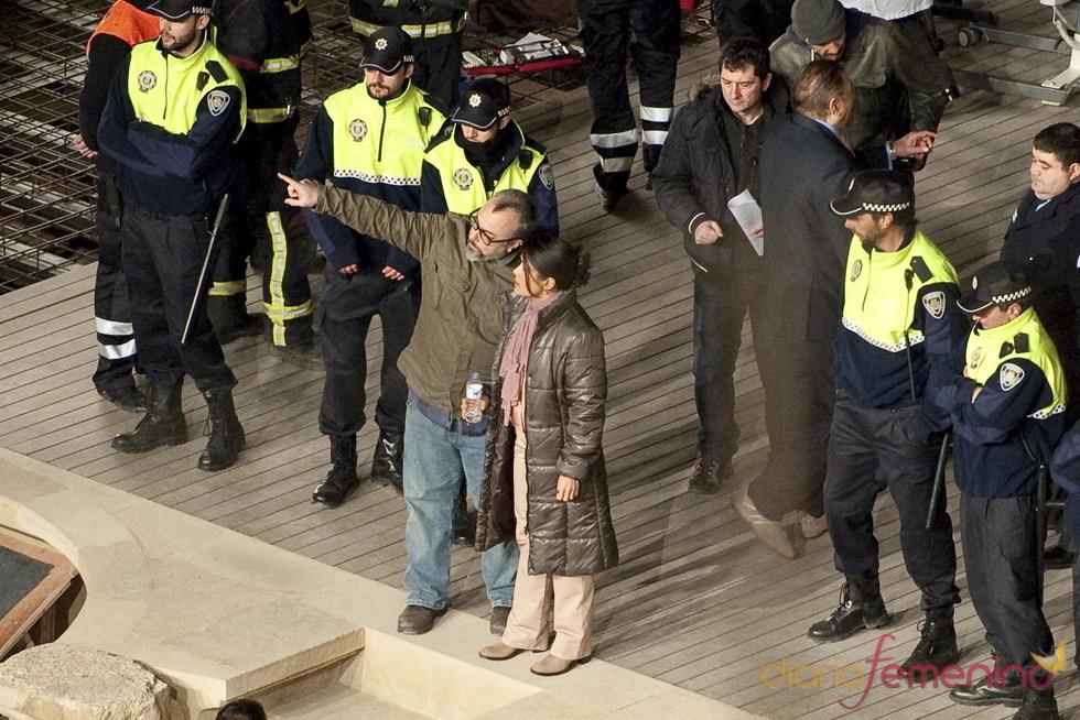 Álex de la Iglesia dirige a Salma Hayek en 'La chispa de la vida'