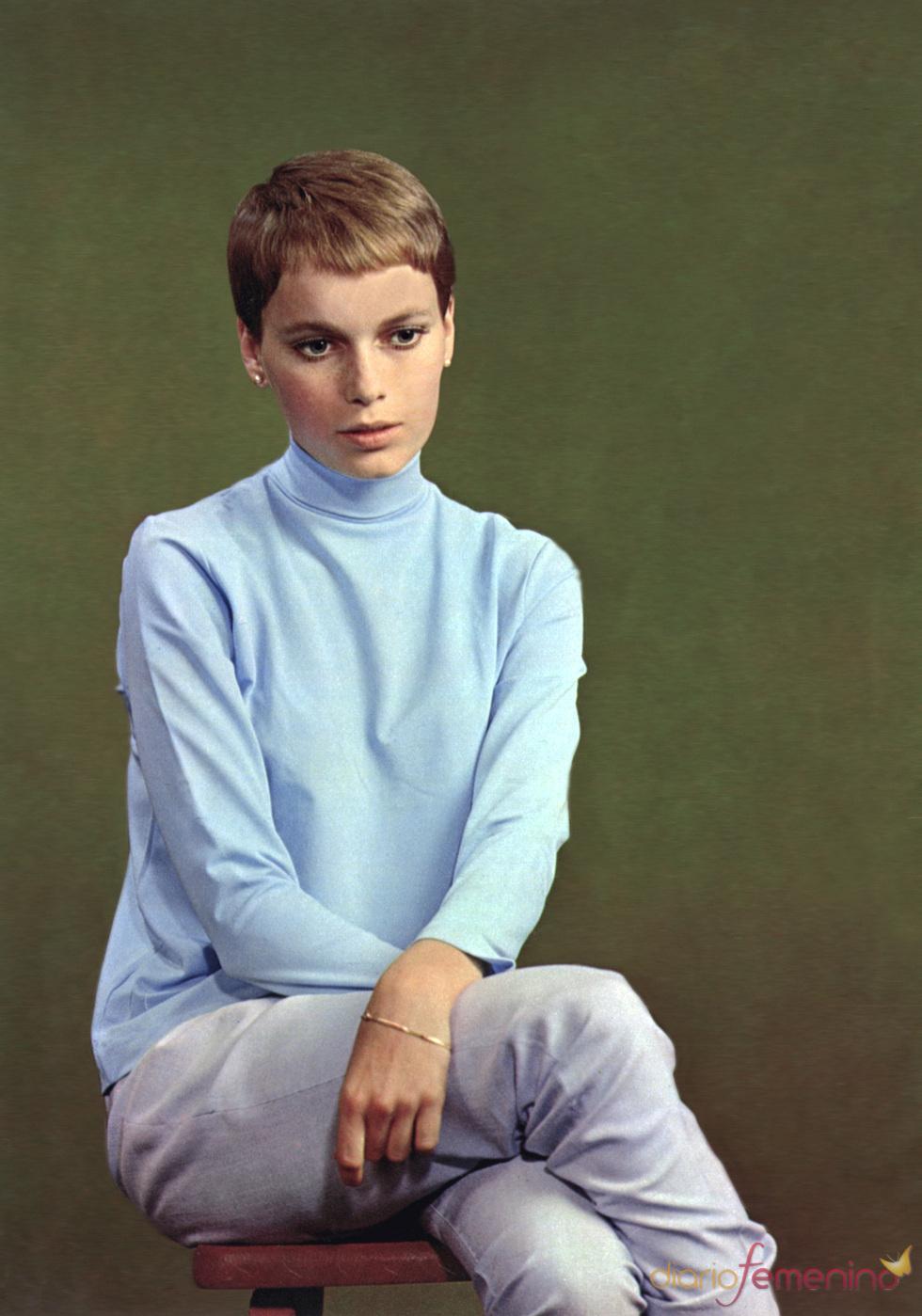 La actriz Mia Farrow