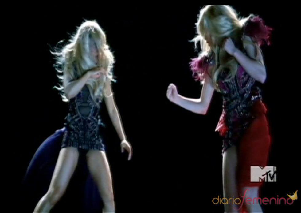 Britney Spears lucha consigo misma en su nuevo videoclip