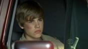 Justin Bieber en una furgoneta en 'CSI Las Vegas'