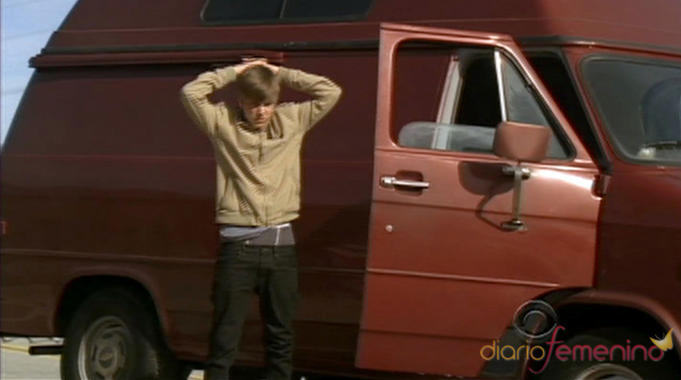 Justin Bieber en su cameo en 'CSI Las Vegas'