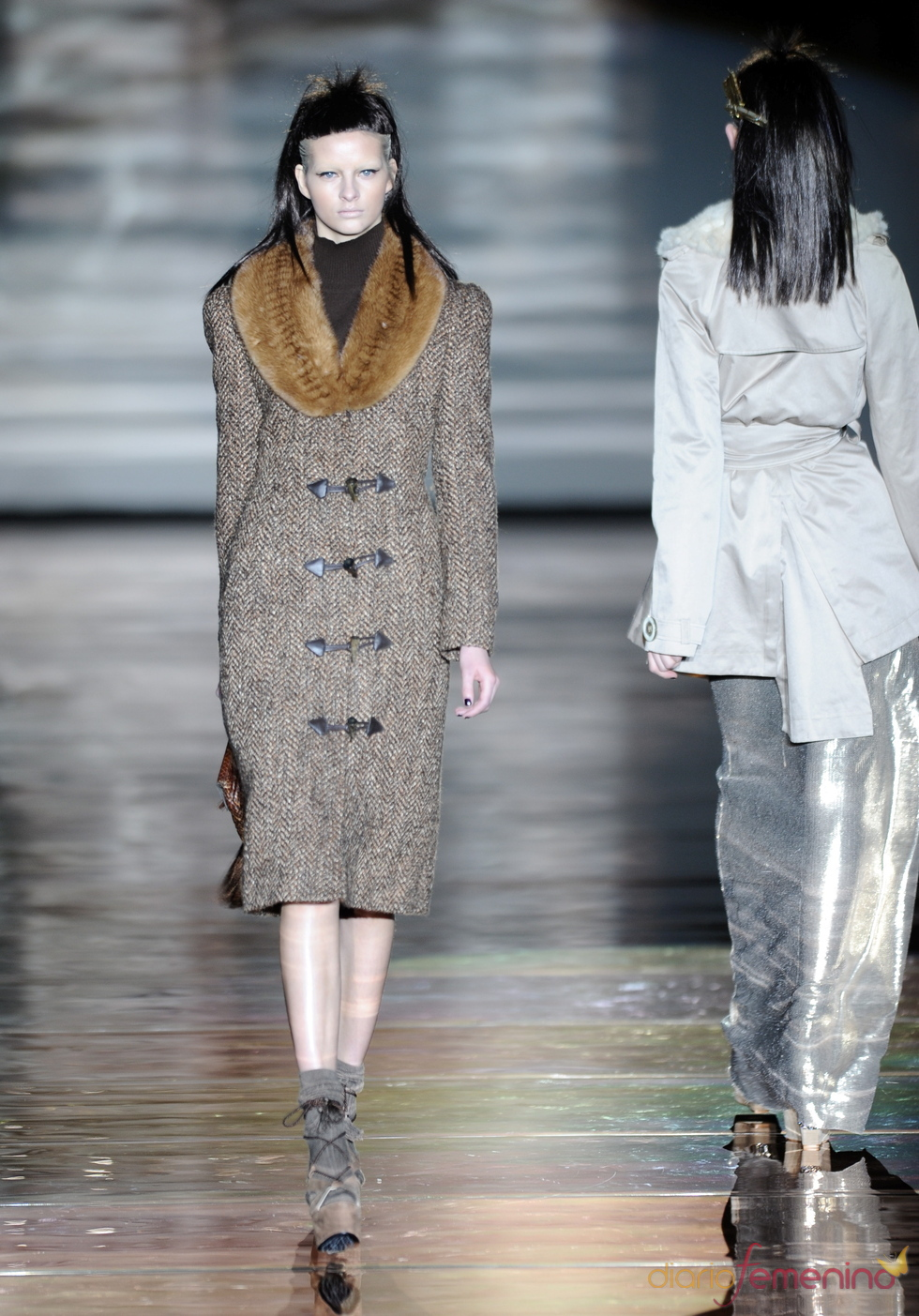 Abrigo de Roberto Verino. Cibeles Madrid Fashion Week 2011