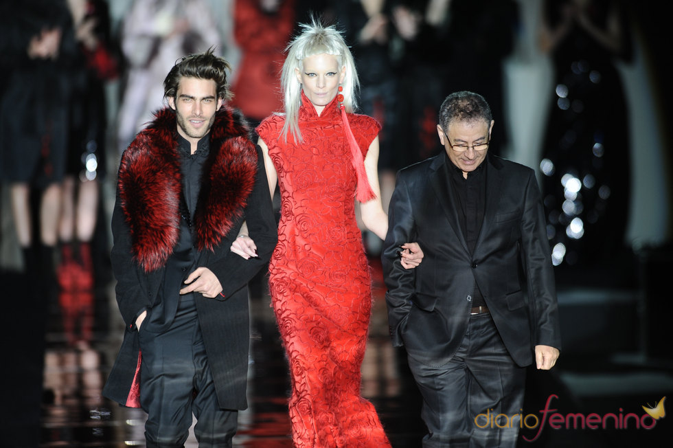Jon Kortajarena y Roberto Verino. Cibeles Madrid Fashion Week 2011