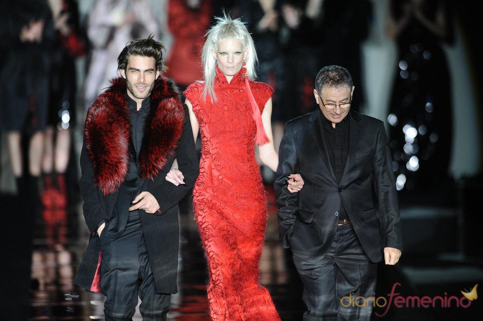 Jon Kortajarena y Roberto Verino. Cibeles Madrid Fashion Week 2011