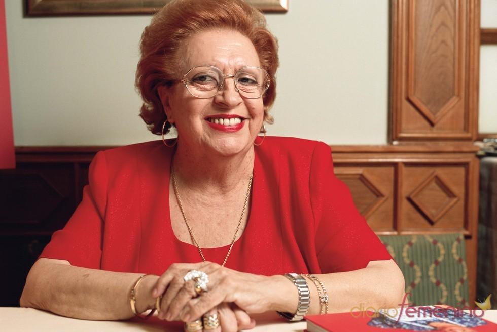 La actriz Florinda Chico