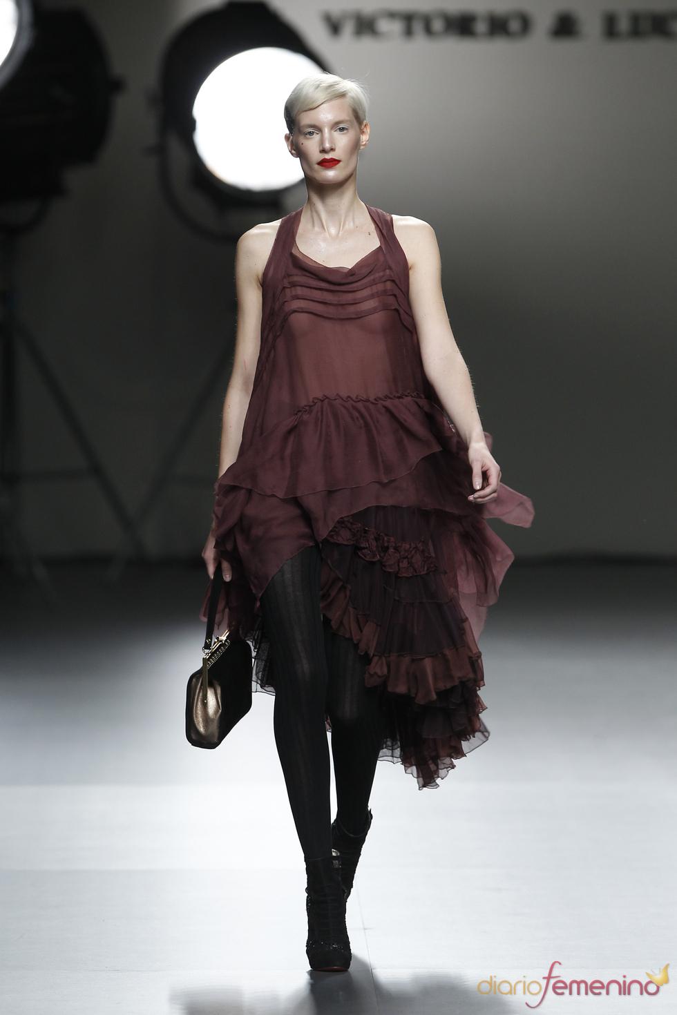 Propuesta de Victorio & Lucchino en Cibeles Madrid Fashion Week 2011