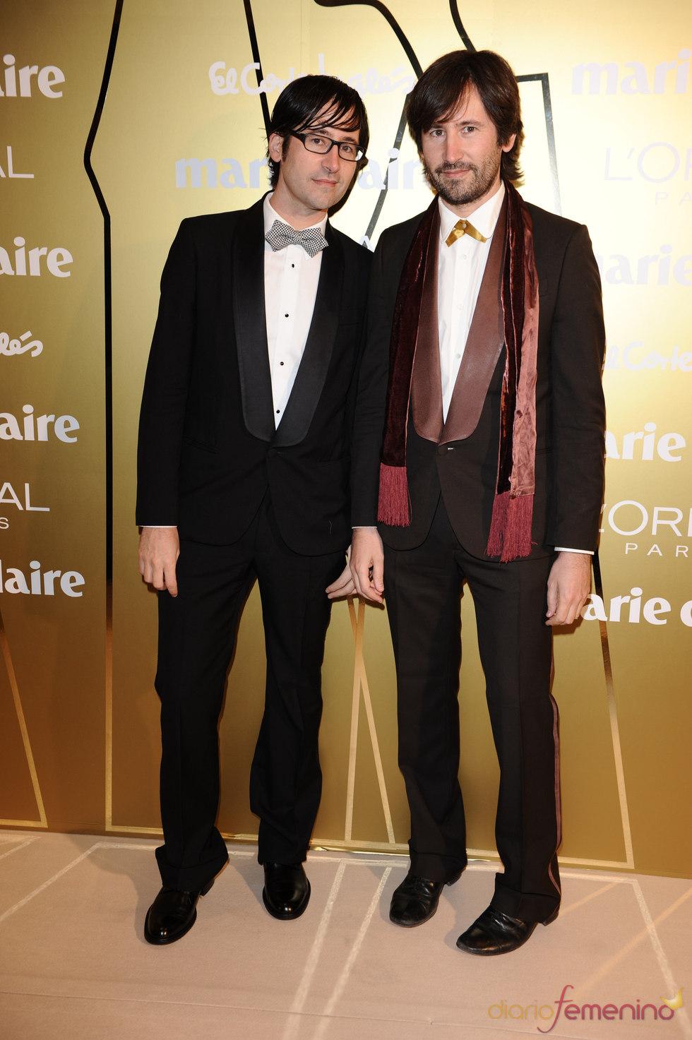 Ailanto durante los 'Prix de la moda' de Marie Claire 2010