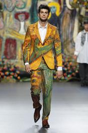 El traje de chaqueta más masculino cobra vida con Francis Montesinos