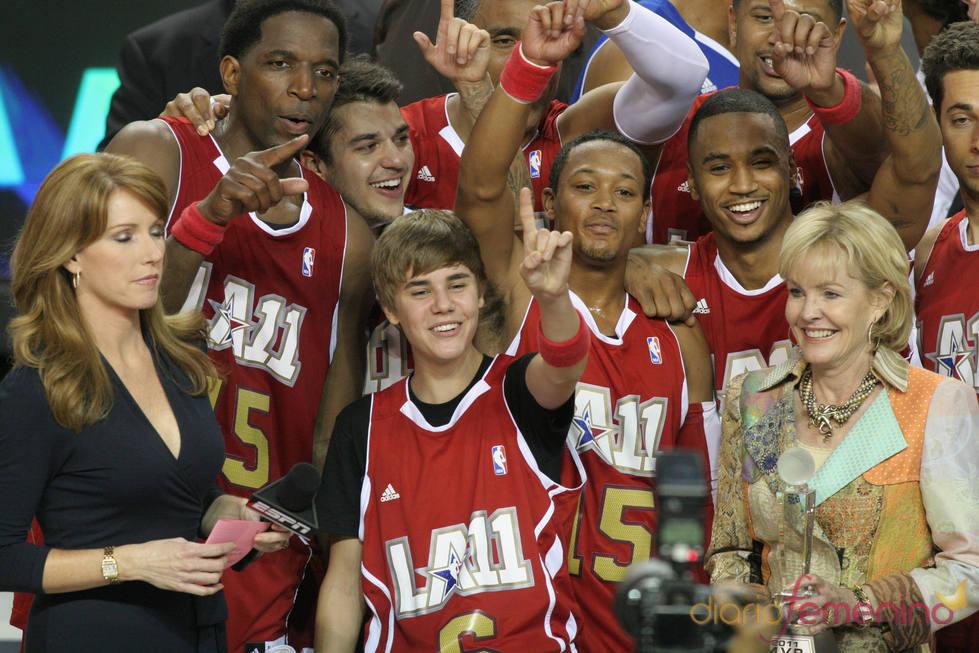 Justin Bieber, emocionaco a pesar de la derrota