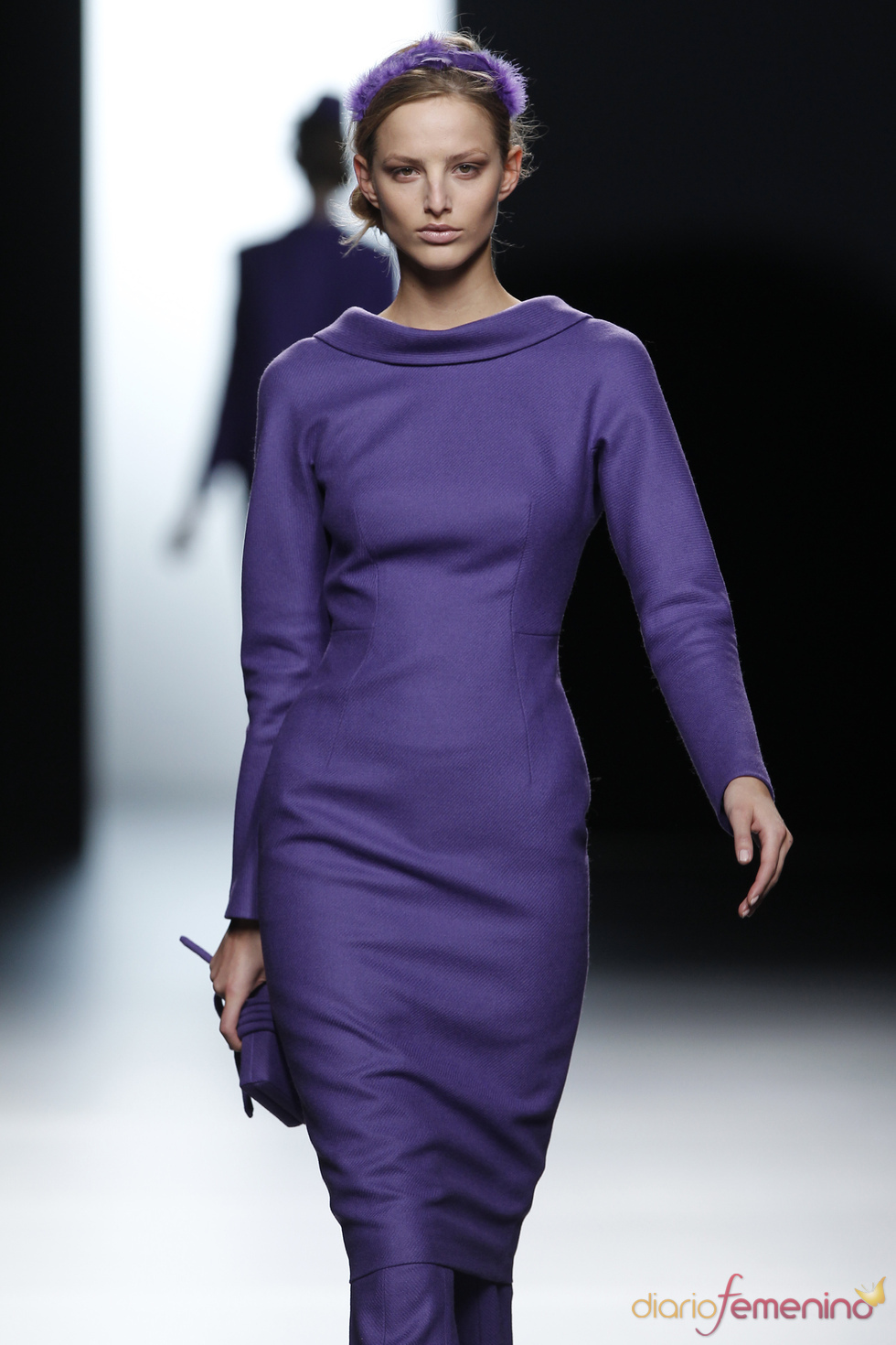 Vestido de inspiración hitchcockiana de Juanjo Oliva
