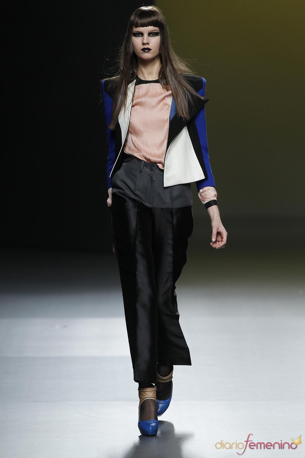 Colección de Ana Locking en Cibeles Madrid Fashion Week 2011