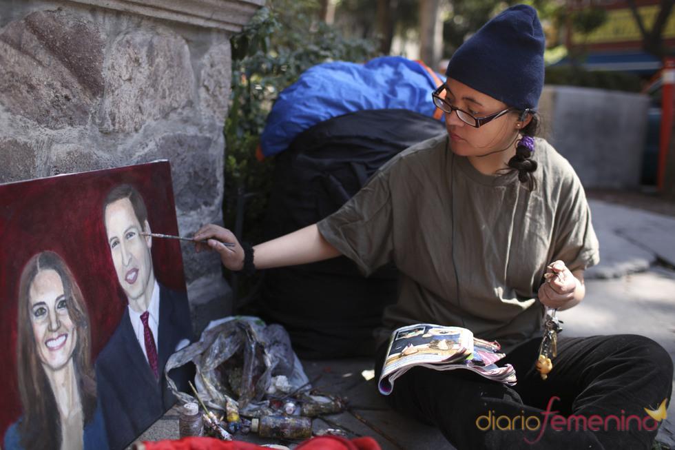 Una mujer en huelga de hambre por una invitación para la boda de Kate Middleton y Guillermo de Inglaterra