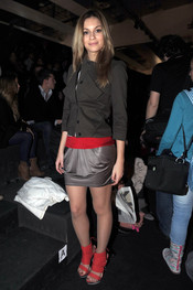 Norma Ruiz en la Cibeles Madrid Fashion Week en 2011
