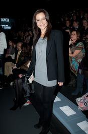Cecilia Gómez en la Cibeles Madrid Fashion Week