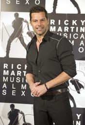 Ricky Martin presenta en Madrid 'Música+Alma+Sexo'