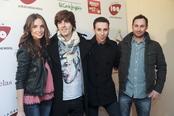 Melocos en los Premios Pie Derecho de Cadena 100