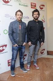 Manuel Martos Figueroa en los Premios Pie Derecho de Cadena 100