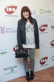 Angy en los Premios Pie Derecho de Cadena 100