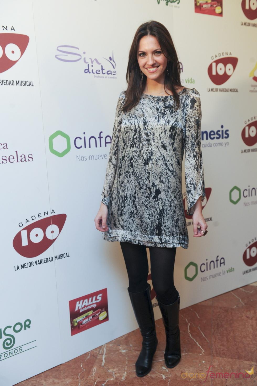 Ana Ruiz en los Premios Pie Derecho de Cadena 100