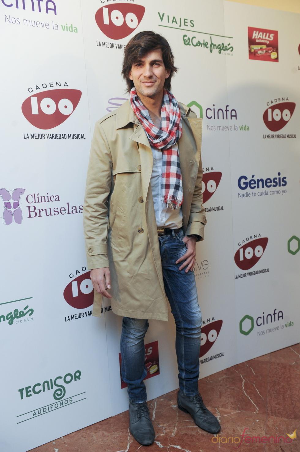 Fran Dieli en los Premios Pie Derecho de Cadena 100